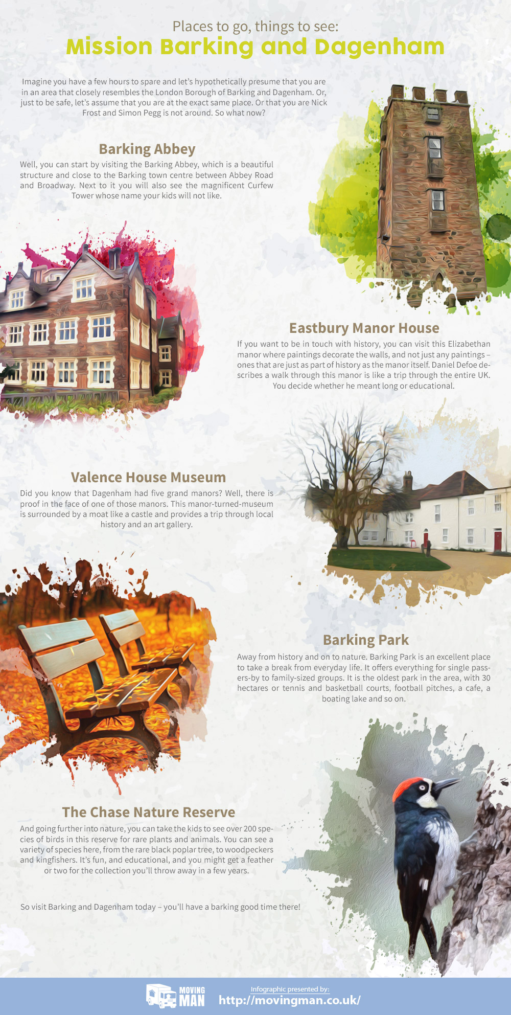 Places to Visit near Barking and Dagenham
