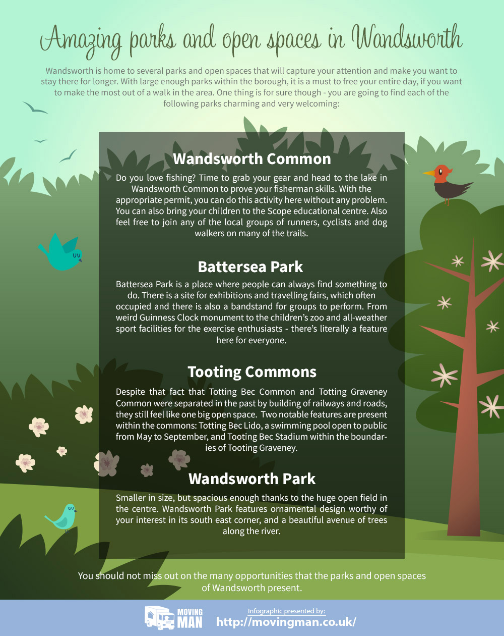 Parks and Open Spaces in Wandsworth